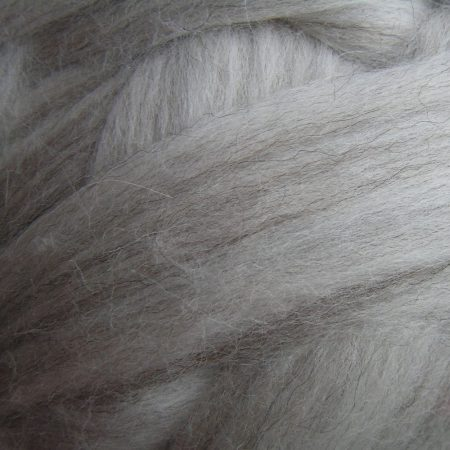 Light grey Merino fiber