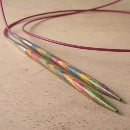 Symfonie Wood Fixed Circular Needles - 8.0 mm