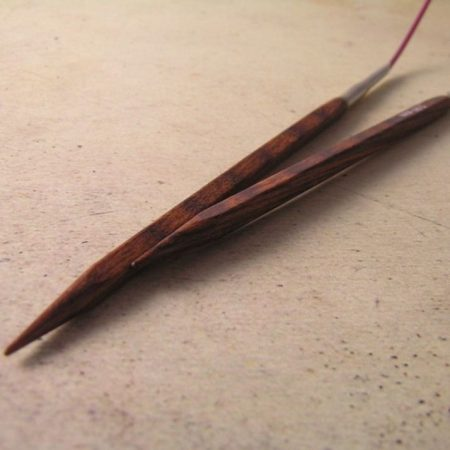 Cubics Wood Fixed Circular Needles - 4.0 mm
