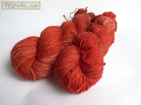 100% Superwash Merino natúr fonal - SINGLE (366m / 100g)